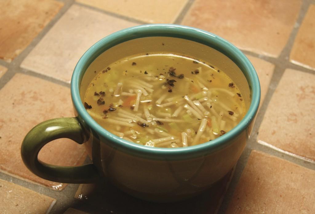 Spelt Noodle Soup