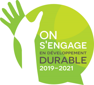 On s'engage en développement durable